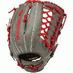 Mizuno MVP Prime SE Baseball Glove Smoke Red 12.75 Right Hand Throw