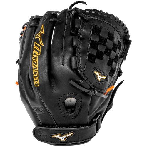 mizuno-mvp-prime-se-gmvp1200psef1-fastpitch-12-inch-infielder-glove-black-orange-right-handed-throw GMVP1200PSEF1-BlackOrangeRight HandThrow Mizuno 041969459348 Mizuno MVP Prime SE Fast Pitch Softball Glove. The Mizuno Prime