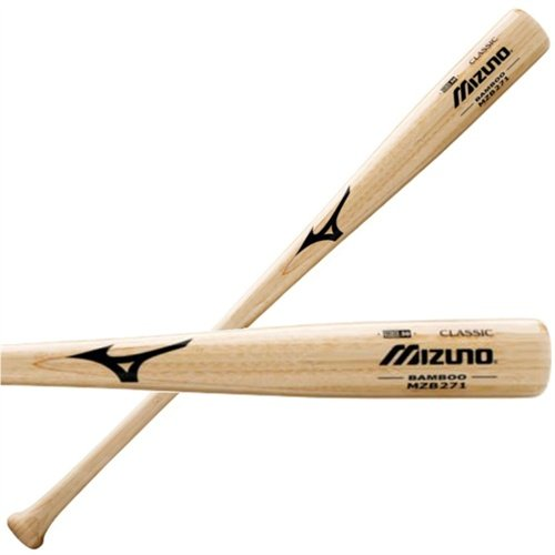 mizuno-mzb271-custom-classic-bamboo-baseball-bat-33-inch MZB271-33 Inch Mizuno 041969739716 Excellent training bat for extended bat life span. Sanded handle for