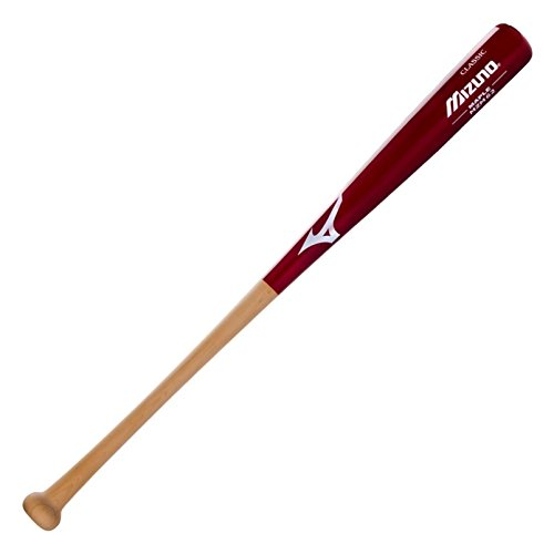mizuno-mzm62-wood-classic-maple-baseball-bat-340110-34-inch 340110-34 inch Mizuno 041969371787 Hard Maple. Hand selected from premium maple wood. Cupped for balanced
