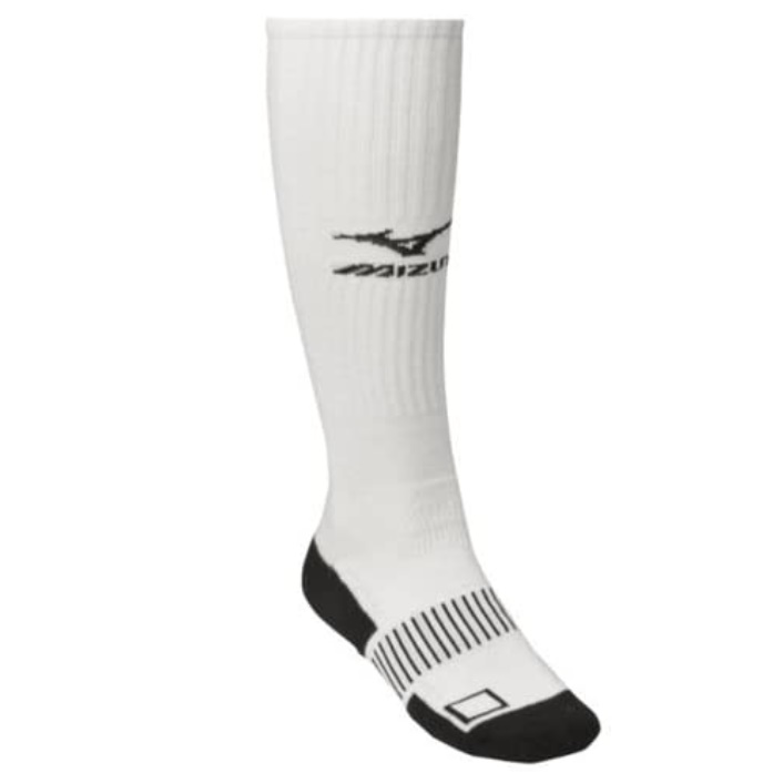 mizuno-performance-plus-knee-hi-sock-small-white 480113-WhiteSmall Mizuno
