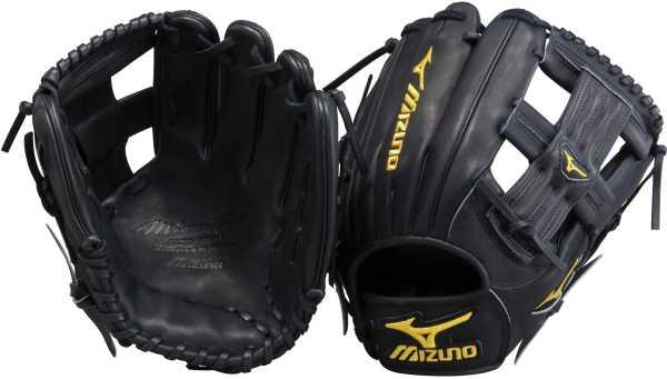 mizuno-pro-limited-gmp62bk-baseball-glove-11-5-right-hand-throw GMP62BKRG Mizuno  Mizuno GMP62BK Pro Limited Edition Series 11.5 Inch Infield Baseball Glove.