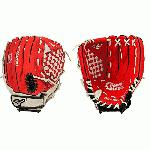 Mizuno Prospect GPP1150Y1RD Red 11.5 Youth Baseball Glove (Right Hand Throw) : Mizuno Prospect Series. Patented Power Close makes catching easy. Power lock closure for maximum fit and performance. Helps youth players learn to catch the right way, in the pocket.