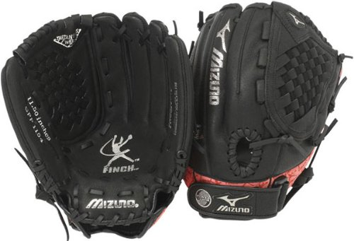 mizuno-prospect-series-gpp1154-youth-fastpitch-glove-11-5-inch-left-handed-throw GPP1154-Left Handed Throw Mizuno 041969198049 The Mizuno GPP1154 is a 11.50-Inch youth fastpitch glove that features