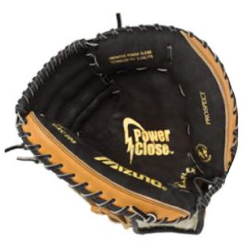 mizuno-prospect-series-gxc105-catchers-mitt-32-5-youth-right-hand-throw GXC105-Right Hand Throw Mizuno 041969270523 Mizunos catchers mitts are made from top quality leather and utilize