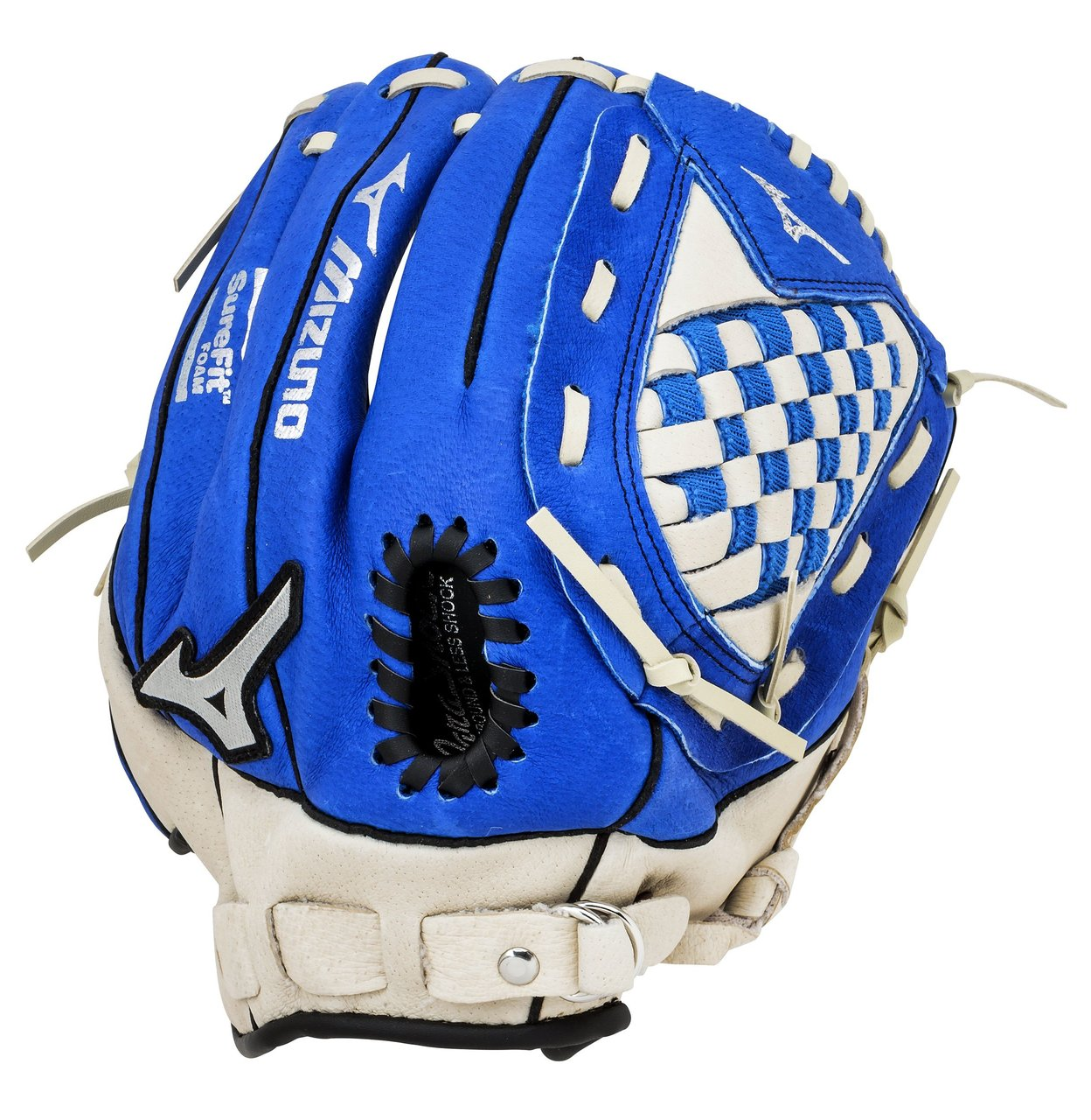 mizuno-prospect-series-youth-10-75-royal-baseball-glove-right-handed-throw GPP1075Y1RY-Right Handed Throw Mizuno 041969127896 The Prospect is made to help younger players fall in love