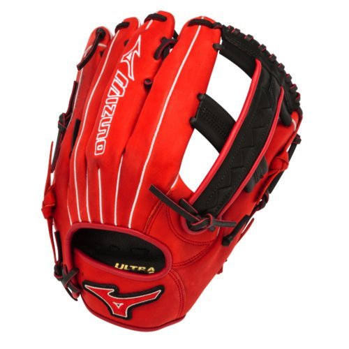 mizuno-slowpitch-gmvp1250pses3-softball-glove-12-5-inch-red-black-right-hand-throw GMVP1250PSES3-Red-BlackRight Hand Throw Mizuno New Mizuno Slowpitch GMVP1250PSES3 Softball Glove 12.5 inch Red-Black Right Hand Throw