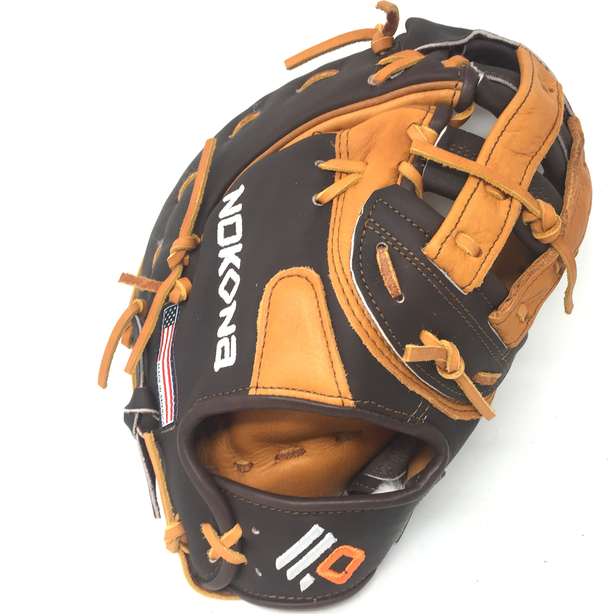 nokona-alpha-2020-first-base-mitt-12-5-right-hand-throw S-3H-2020-RightHandThrow  808808893967 The Alpha series is created with virtually no break in needed