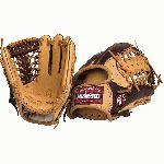 The Alpha series baseball gloves has been expanded to include our full-sized baseball patterns. This performance series is made with our top-of-the-line Stampede™ and Buffalo leathers for top travel, high-school, college, and pro players. The combination of these two proprietary leathers makes Alpha™ gloves light weight and ready for play with minimal need for break-in, and provides ideal structure and balance. 11.5 inch Pattern. Modified Trap. Open Back. Leather Buffalo plus Stampede Weight: ~590g