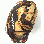nokona alpha american buffalo s 3h first base mitt 12 5 right hand throw