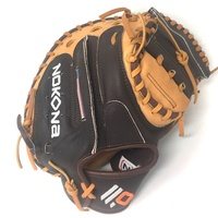 nokona alpha baseball catchers mitt 33 5 right hand throw