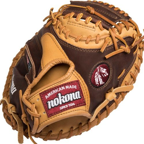 nokona-alpha-baseball-catchers-mitt-33-inch-right-handed-throw AB-3300C-Right Handed Throw Nokona 808808889502 Nokona Alpha Baseball Catchers Mitt 33 inch Right Handed Throw