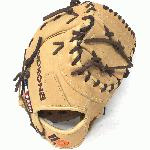 nokona alpha baseball first base mitt 14u tan 10 5 rigth hand throw