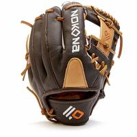 Youth Series 10.5 Inch Model I Web Open Back. The Select series is built with virtually no break-in needed, using the highest-quality leathers so that youth and young adult players can perform at the top of their game. A position-specific, light weight, durable, high-performing glove for club and elite players. - Youth Series - 10.5 Inch Model - I Web - Open Back - Bison Leather - Individually Handcrafted in the USA - 1 Year Manufacturer's Warranty from Nokona.