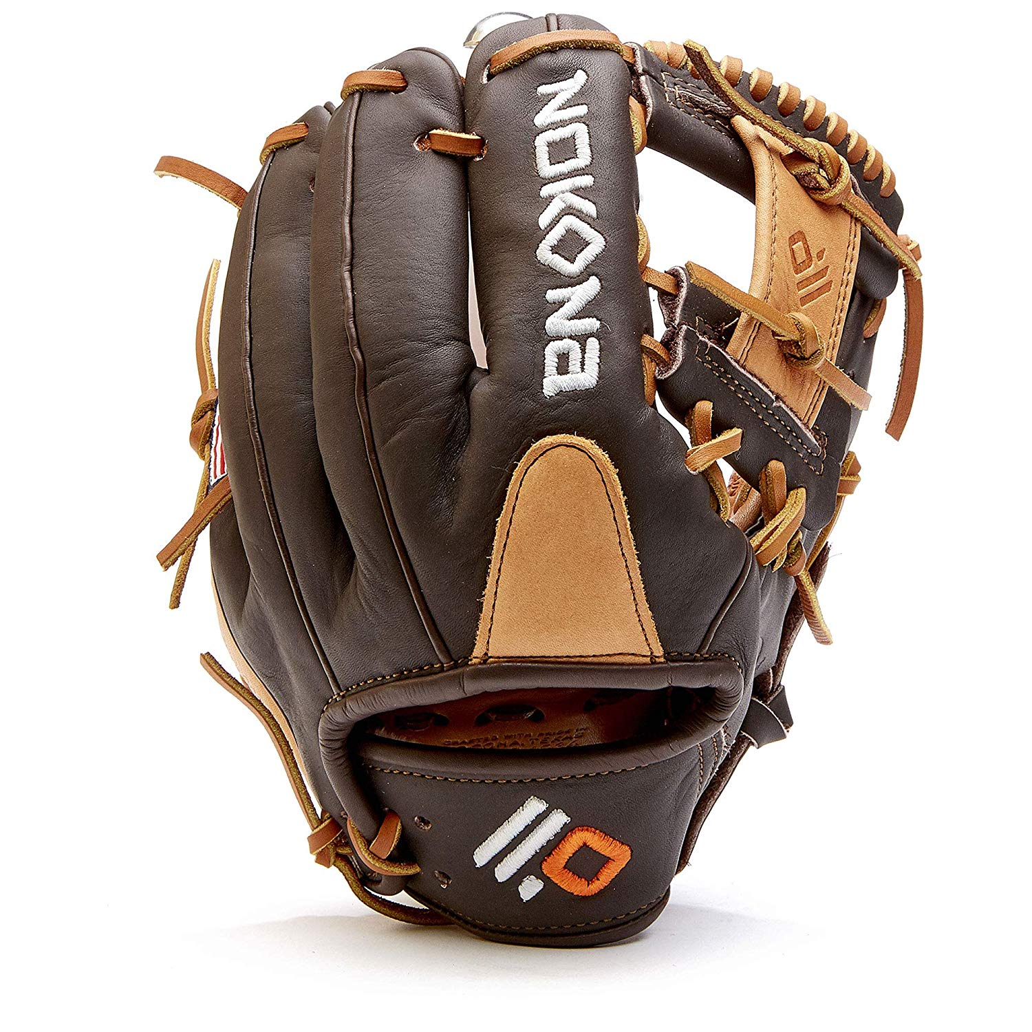 nokona-alpha-select-10-5-baseball-glove-youth-right-hand-throw S-100I-2020-RightHandThrow  808808893806 Youth Series 10.5 Inch Model I Web Open Back. The Select