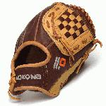 Nokona Alpha Select Youth Baseball Glove. Closed Web. Open Back. Infield or Outfield. The Select Series is built with virtually no break in needed. Using the highest quality leathers so that youth and young adult players can perfrom at the top of their game. A position specific, light weight, durable, and high performing glove for club and elite players. 9 inch. Aprox 300g.