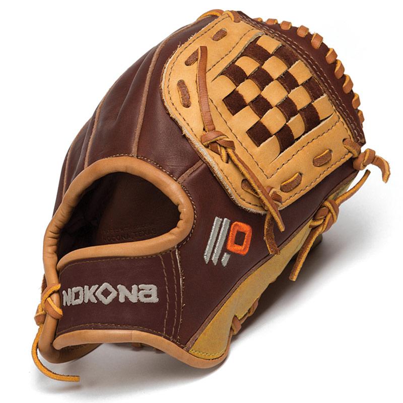 nokona-alpha-select-9-inch-baseball-glove-ages-3-to-7-right-handed-throw S-50C-Right Handed Throw Nokona 808808890515 Nokona Alpha Select Youth Baseball Glove. Closed Web. Open Back. Infield
