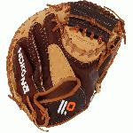 This Youth performance series is made with Nokonas top-of-the-line leathers, StampedeTM and Buffalo, for ideal structure, weight, and very easy break-in. The combination of these two proprietary Nokona leathers makes these gloves ready for play right off the shelf without any need for steaming.
