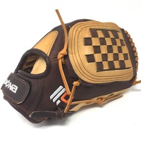 nokona alpha tan supersoft americankip fastpitch softball glove 12 5 right hand throw