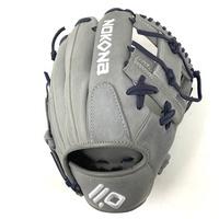 nokona american kip 11 5 baseball glove i web grey navy right hand throw