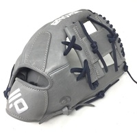 nokona american kip 14u gray with navy laces 11 25 baseball glove i web right hand throw