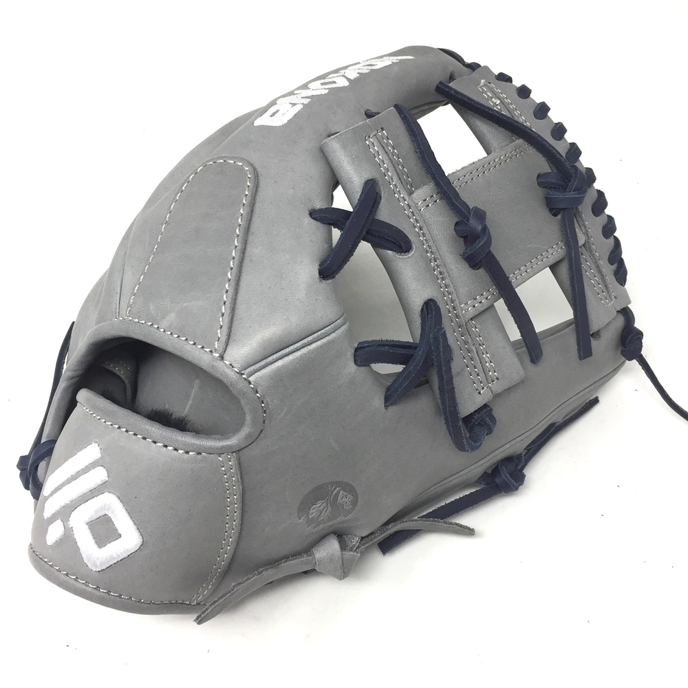 nokona-american-kip-14u-gray-with-navy-laces-11-25-baseball-glove-i-web-right-hand-throw A-200I-GR-NV-RightHandThrow  Does Not Apply The American Kip series made with the finest American steer hide