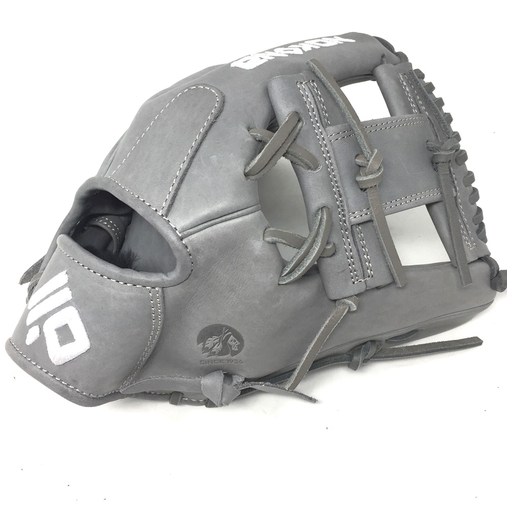 nokona-american-kip-14u-gray-with-silver-laces-11-25-baseball-glove-i-web-right-hand-throw A-200I-GR-SI-RightHandThrow Nokona Does Not Apply The American Kip series made with the finest American steer hide
