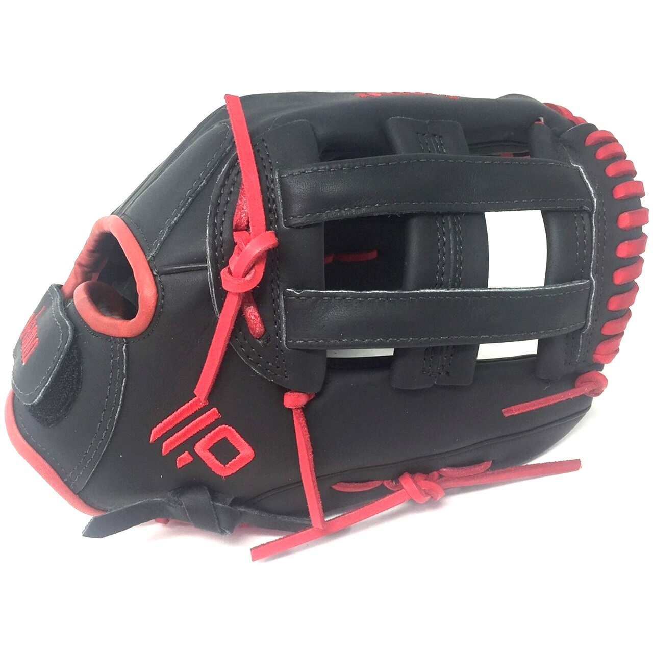 nokona-american-kip-fast-pitch-softball-glove-12-5-right-hand-throw A-1250H-BKRD-RightHandThrow Nokona 808808899501 12.5 Inch Pattern AmericanKIP - American Steerhide With Characteristics Similar To