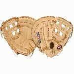 Nokona American Legend Series First Base Mitt AL1250FBH (Right Handed Throw) : A full Nokona First Base Mitt Sandstone glove. The American Legend is a stiff, sturdy, durable mitt. A traditional Nokona. This glove is for the player looking for structure and durability, and allows for more custom break-in. Form it to your preference. The Nokona American Legend will maintain its shape over a long period of time, and provides exceptional durability.