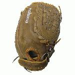 Nokona Banana Tanned is game ready leather on this fastpitch nokona softball glove.
