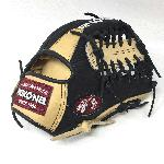 nokona bison black alpha baseball glove s 1150mtb 11 5 right hand throw