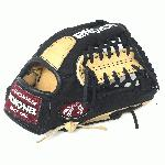 nokona bison black alpha select baseball glove s 200mb 11 25 inch right hand throw