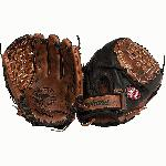 pNokona Fastpitch Black Buckaroo Softball Glove. Closed Web and 12.5 inches./p