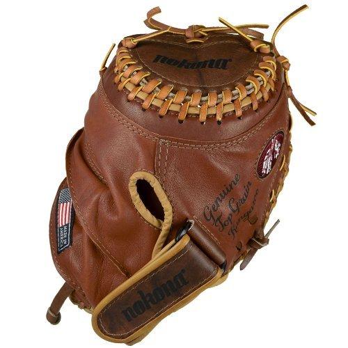 nokona-bkf-3250c-buckaroo-fast-pitch-softball-catchers-mitt-right-handed-throw BKF-3250C-Right Handed Throw Nokona 808808888918 Nokona Fastpitch Catchers Mitt Buckaroo 32.5 Inch. Nokona has perfected the