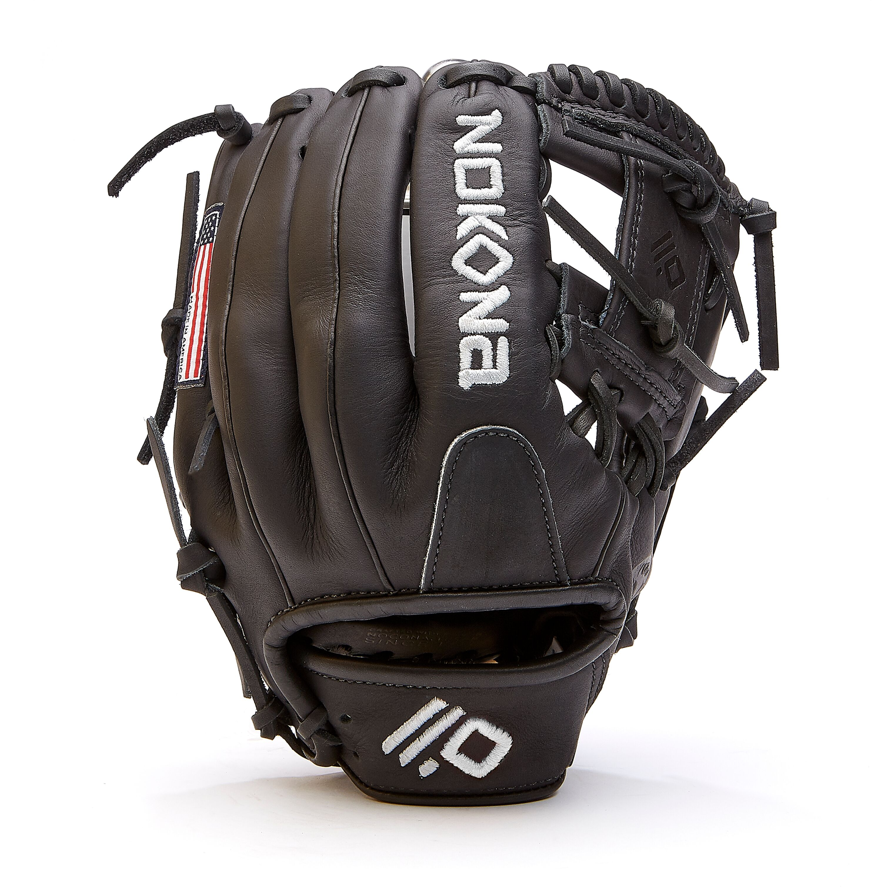 nokona-black-americankip-14u-baseball-glove-11-25-right-hand-throw A-200I-BK-RightHandThrow  808808894186 <span>The American Kip series made with the finest American steer hide