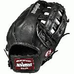 Nokona Bloodline Leather, their top-of-the-line Bloodline Series is now offered in Black Prime Leater. These Pro-Elite baseball Gloves provide the perfect combination of sturdiness and comfort, and are offered in specially designed patterns for each position on the field.