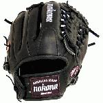 Nokona uses proprietary Bloodline leather as the basis for this series. This unique tanning process gives our Bloodline gloves the sturdiness and comfort top baseball players demand. Bloodline requires heavier break-in it is a strong, firm glove that will last. Made with genuine shearling cuff.