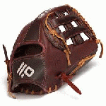 H Web with Open Back. 11.75 Infield Pattern Kangaroo Leather Shell - Combines Superior Durability with a Lightweight Feel Recommended for Third Base Bloodline is back - and better than ever. A pro model glove that is highly structured and extremely lightweight The Bloodline is back - with a completely re-engineered construction! Just like the previous Bloodline Series models, the Bloodline Pro offers players a pro-quality glove that is highly structured - but now with an extremely lightweight feel! The highlight of this Series lies in the elite-level materials that Nokona chose for its construction. By utilizing their proprietary Range Kangaroo Leather for the entire shell, players receive one of the strongest, most durable leathers in the world - without the bulky weight you get with many high-end gloves. Another new feature to the Bloodline Series is the Interior Padding System that has been strategically placed in the glove to provide even more lasting structure, season-long durability, and confidence-building protection. Currently, the Bloodline Pro can been seen on the hand of young Major League Stars Tyler Saladino (CWS) and Kevin Siegrist (STL). Nokona has built a reputation for providing the highest quality gloves, which are made right here in the USA! For over 75 years, Nokona has been making their product in Nocona, Texas where the people have dedicated their lives to providing the highest quality ball glove. American Made.