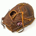 Nokona American Made Baseball Glove with Classic Walnut Steer Hide. 11 inch pattern and closed back with basket closed web. Index Finger Pad. American Flag.