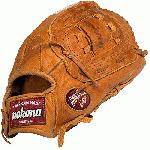 Nokona Generation 13 inch Slow Pitch softball glove. 13 inch. Ispired by Nokona's heritage of handcrafting ball gloves in America for the past 80 years, the Generation series has a beautiful, classic look in a high performance glove. The Generation series takes you back to your roots, and harkens back to Nokona's roots as a company, with the introduction of their original G series in 1934. Generation Steerhide has a traditional saddle tannage, a throwback leather with rich color and a natural, supple feel. Generation Steerhide has a medium weight and creates good structure and fit. Carefully cut, stamped, stitched, laced and embroidered in America. 13 inch utility model Closed and web Open Back.