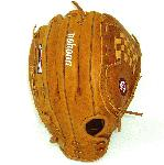 Nokonas heritage of handcrafting ball gloves in America for the past 80 years the Generation series has a beautiful classic look and is a high performance glove. Made with Nokonas proprietary Generation Steerhide leather this glove is a showpiece on and off the field and represents baseball gear at its finest. The Generation series takes you back to your roots and harkens back to Nokonas roots as a company with the introduction of their original G Series in 1934. Inspired by this classic series the Generation is a glove to be enjoyed for generations as its look and fit will be enhanced as you use it and make it your own. For any player who loves the game the Generation series has a comfortable supple feel and is easy to break in. Leather Generation Steerhide New and unique to Nokona Generation Steerhide has a traditional saddle tannage a throwback leather with a rich color and a natural supple feel. Generation Steerhide has a medium weight and creates good structure and fit. Specs 13.5 slowpitch pattern Closed Web Closed Back Generation Leather Scheme Steerhide Weight 800g Handmade in the USA One year warranty G1350C