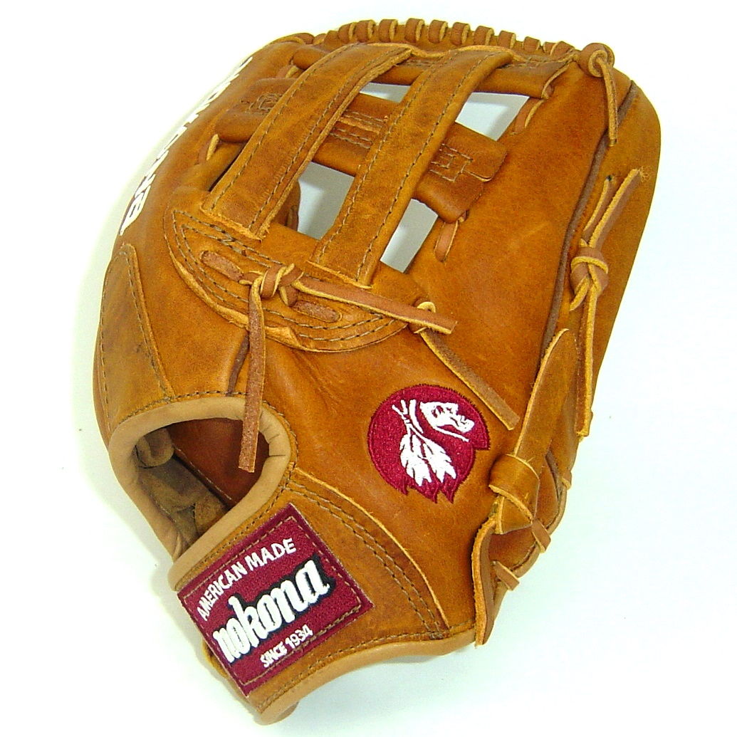 nokona-generation-series-12-inch-baseball-glove-h-web-right-hand-throw G-1200H-RightHandThrow Nokona 808808891260 Nokona Generation Series 12 Inch Baseball Glove. Nokona's heritage of handcrafting