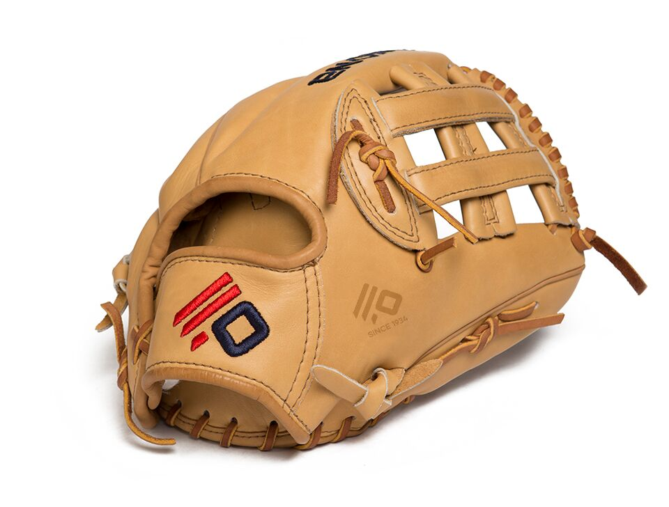 Made with full Sandstone leather, the Legen Pro is a stiff sturdy durable and lightweight baseball glove. A traditional Nokona desgined for serious players looking for a more customized break in period so that it can be formed to your preference. The Legend Pro maintains its shape over a long period of time and provides exceptional durablity and great performance. 11.75 inch. H Web. Open Back. 575 grams.
