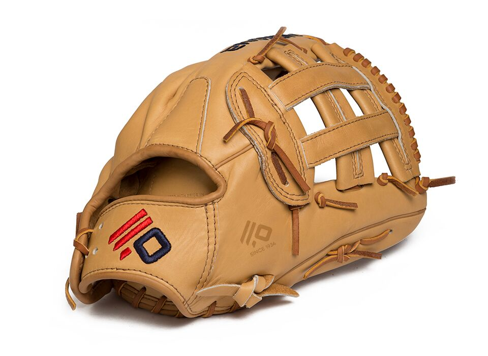 American made Nokona from the finest top grain steerhide. 13 inch H Web excellent for Baseball Outfield or Slow Pitch Softball. Made with full Sandstone leather, the Legen Pro is a stiff sturdy durable and lightweight baseball glove. A traditional Nokona desgined for serious players looking for a more customized break in period so that it can be formed to your preference. The Legend Pro maintains its shape over a long period of time and provides exceptional durablity and great performance.