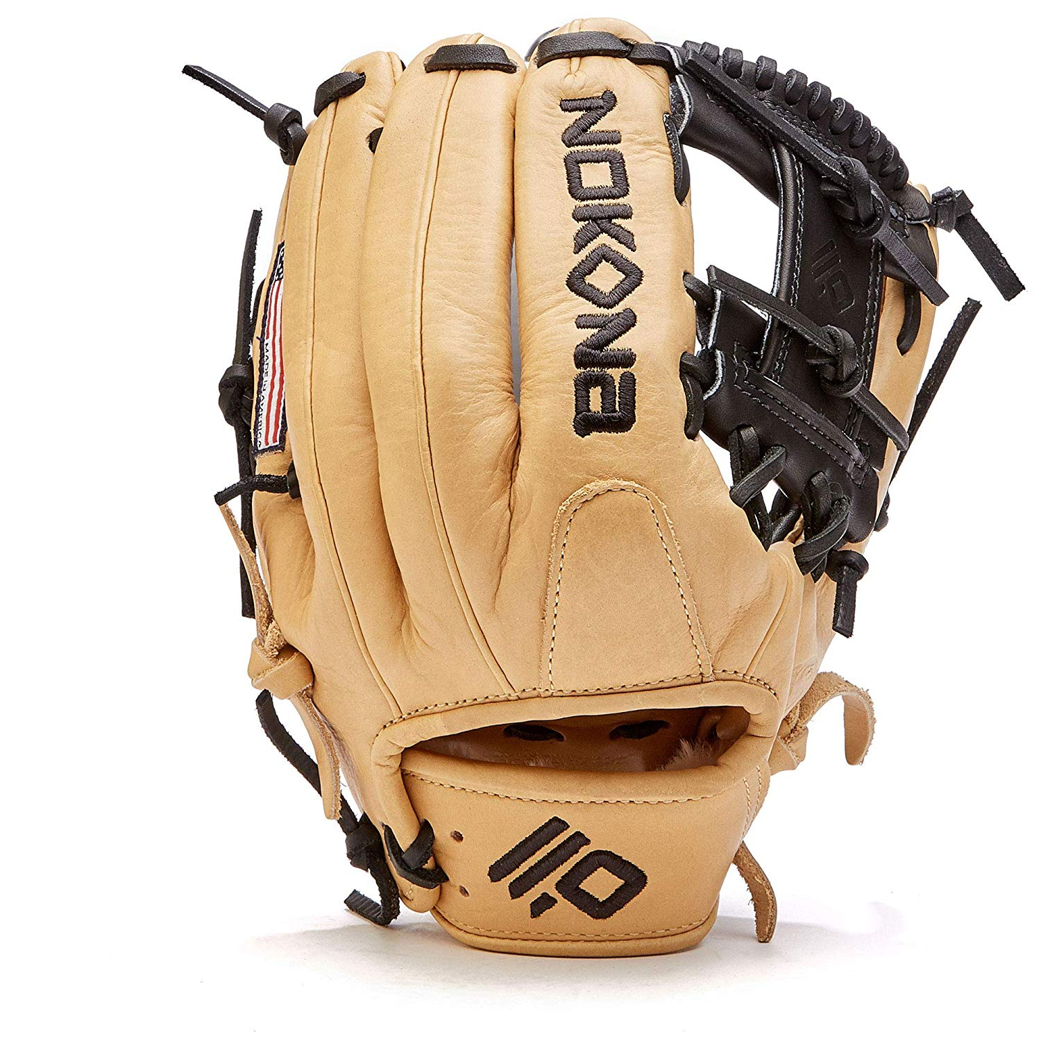 nokona-skn-baseball-glove-11-25-skn-200i-right-hand-throw SKN-200I-RightHandThrow  808808893622 I Web Lightweight and highly structured Some player break-in required Manufacturers