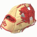 nokona skn series 11 5 inch skn 6 rd baseball glove red lacing right hand throw