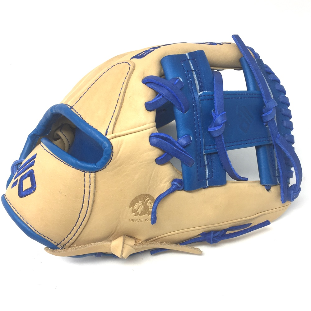 nokona-skn-series-11-5-inch-skn-6-royal-baseball-glove-right-hand-throw SKN-6-2020-RY-RightHandThrow  Does Not Apply 11.5 Infield Pattern I-Web Palm Leather American Bison Back Leather Japanese