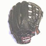 pNokona professional steerhide Baseball Glove with H web and conventional open back./p