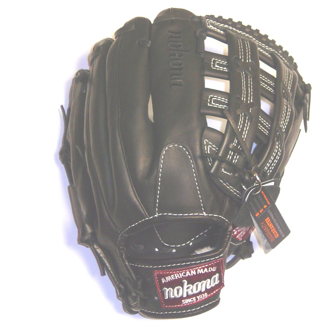 nokona-steerhide-pro-l-1300h-baseball-glove-13-inch-right-hand-throw L-1300H=BLK-RightHandThrow Nokona 808808891338 <p>Nokona professional steerhide Baseball Glove with H web and conventional open