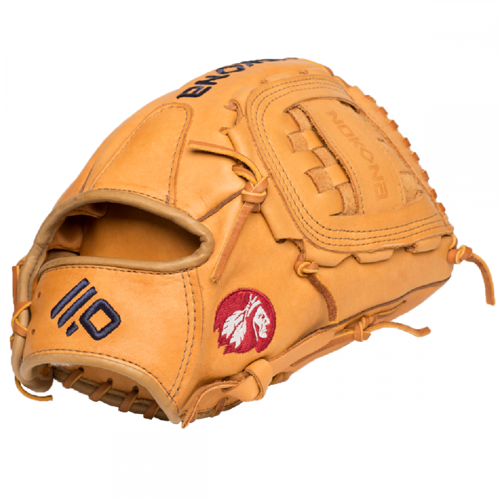 The all new Supersoft series from Nokona features ultra-premium, top-grain Steerhide for an amazingly soft feel. The Supersoft gloves are like no other. The supple and game ready leather maintains its structure and durability. Comes with a manufacturer's warranty from Nokona. - 12 Inch Model - Closed Web - Open Back - Premium Top-Grain Steerhide Leather - Requires Some Player Break-In - Manufacturer's Warranty